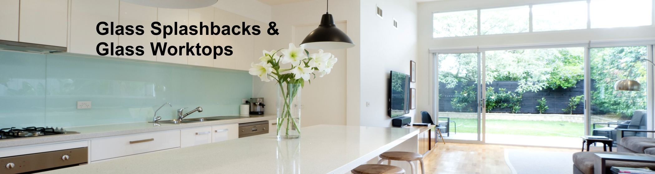 Glass Worktops / Splashbacks | Empire Glazing Kitchens Windows Glass ...